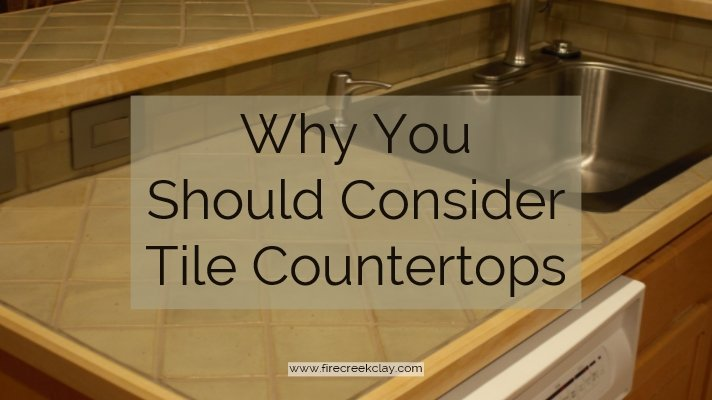 Ceramic Tile Countertops Add Beauty And