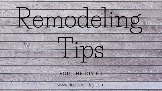 remodeling quick tips